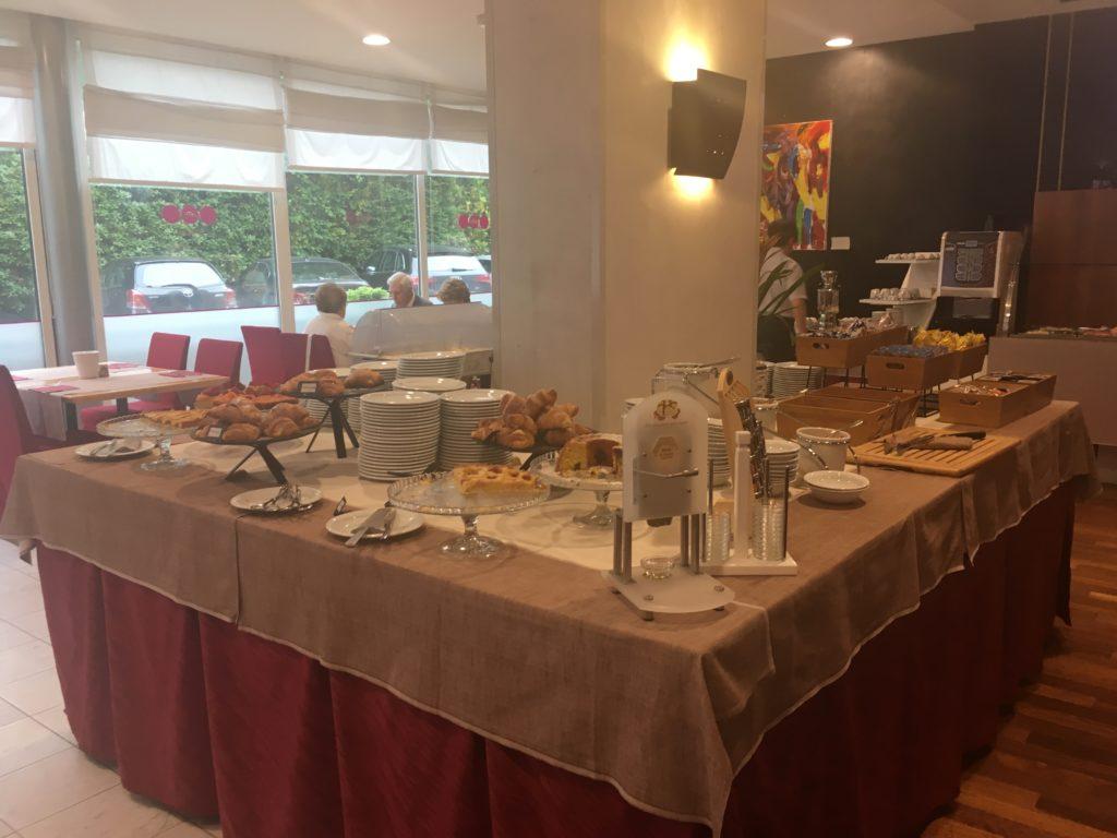 Vicenza Tiepolo Hotel colazione
