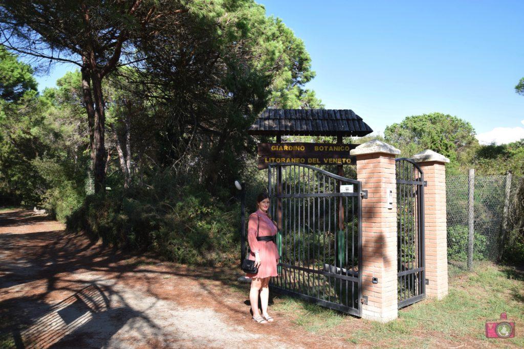 Giardino Botanico Litoraneo Porto Caleri ingresso