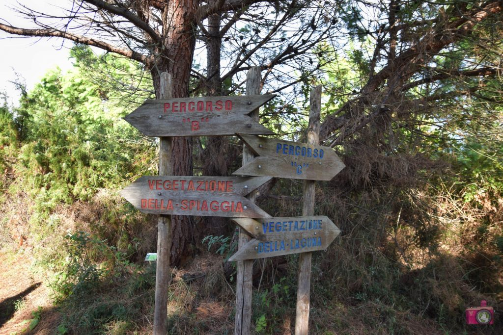 Giardino Botanico Litoraneo Porto Caleri percorso B rosso