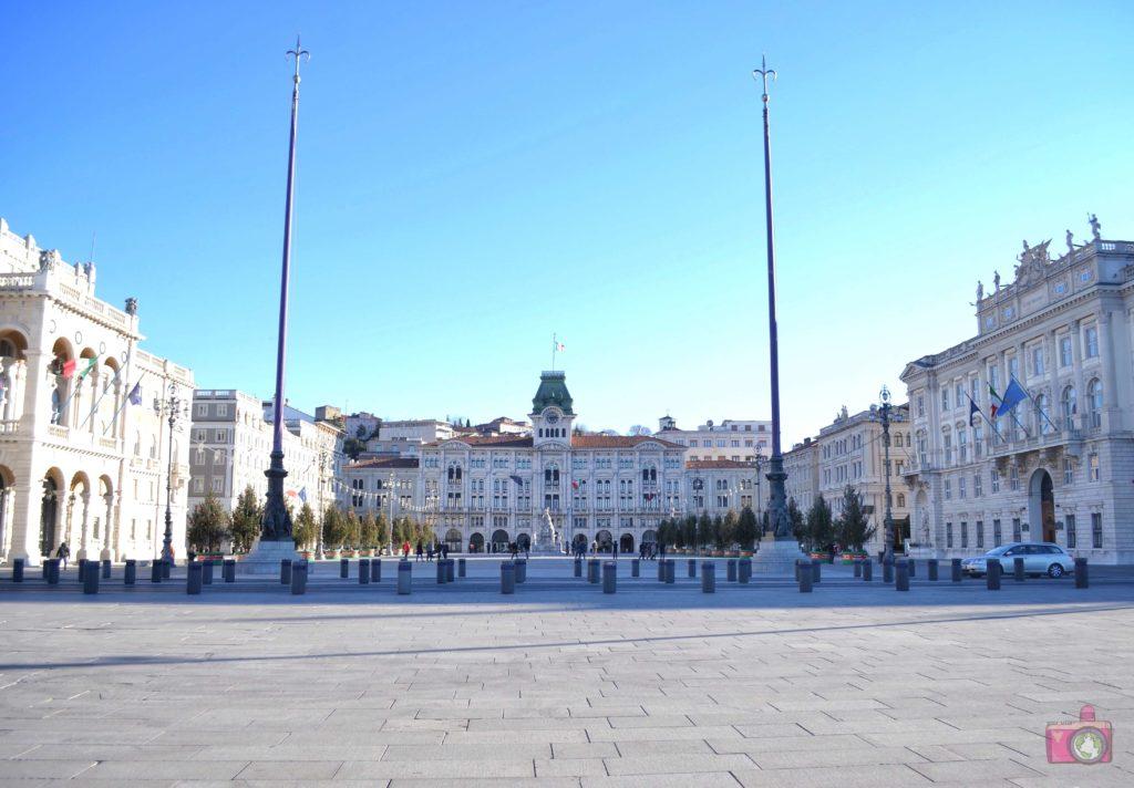 Visitare Trieste Piazza Unità d'Italia