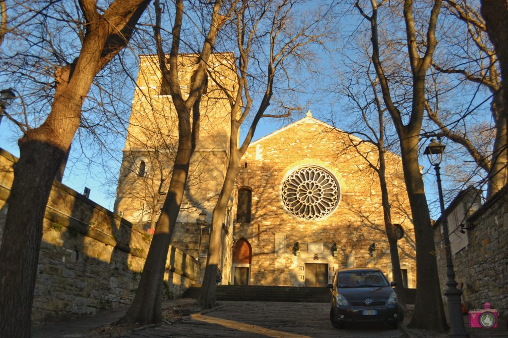Visitare Trieste Cattedrale di San Giusto