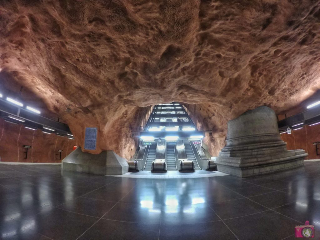 Radhuset Tunnelbana Stoccolma