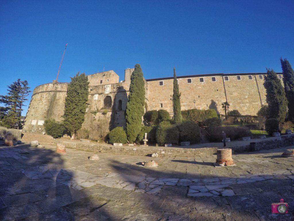 Visitare Trieste Castello di San Giusto