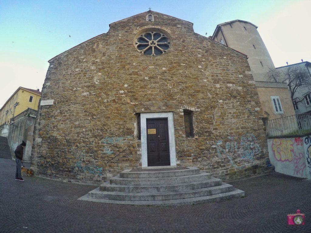 Visitare Trieste Basilica di San Silvestro