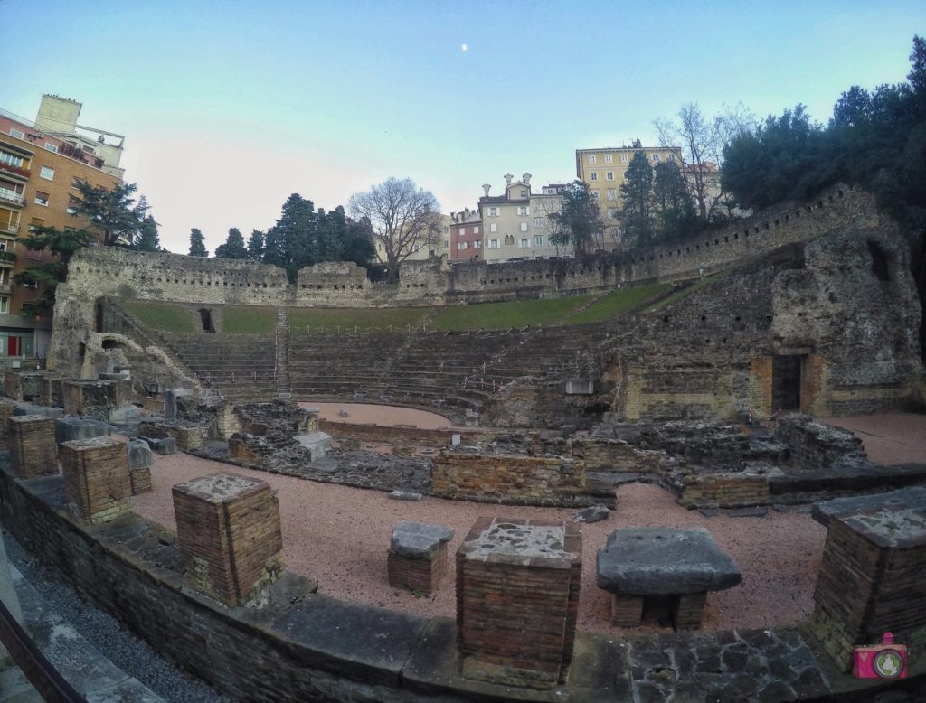 Visitare Trieste Teatro Romano