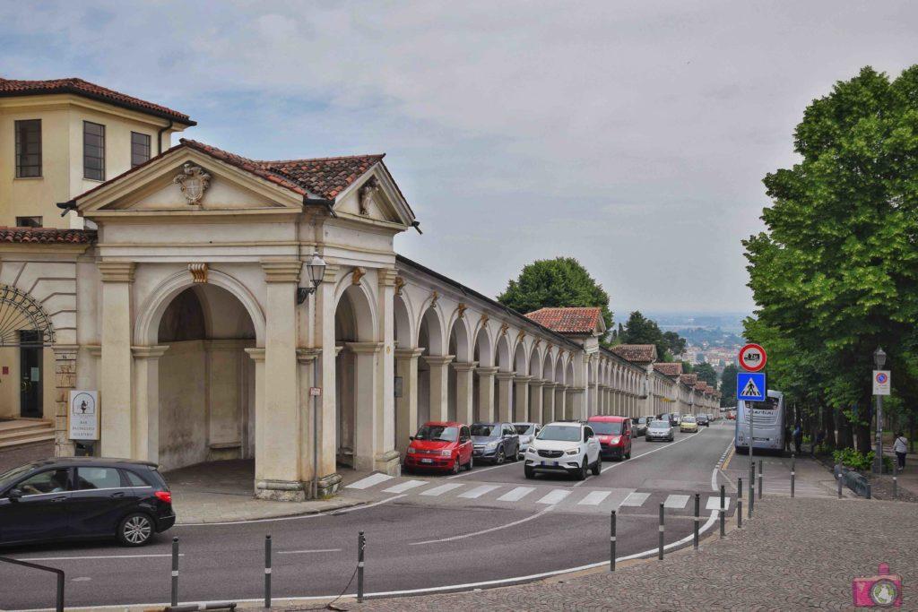 Cosa vedere a Vicenza Portici di Monte Berico