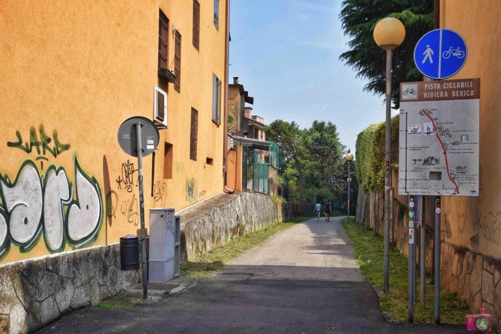 Cosa vedere a Vicenza pista ciclabile Riviera Berica