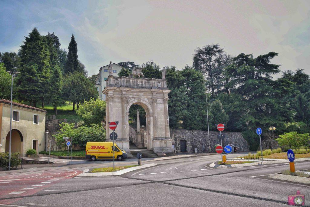 Cosa vedere a Vicenza Arco delle Scalette