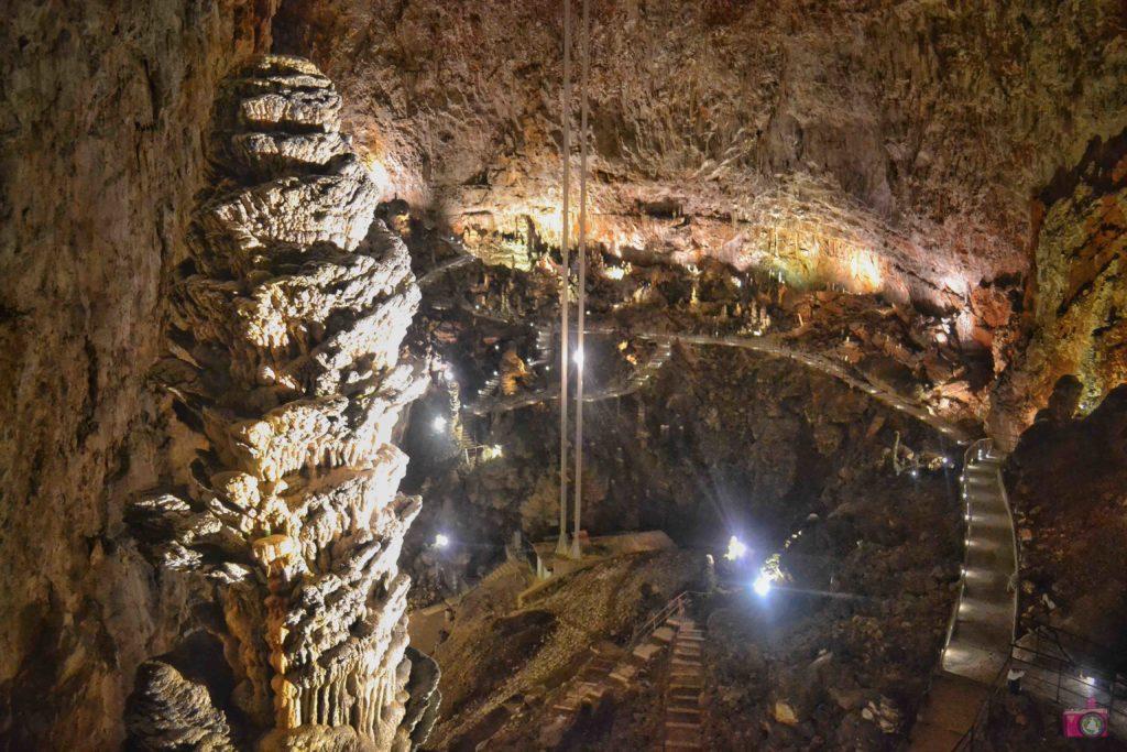 Cosa vedere a Trieste Grotta Gigante Colonna di Ruggero