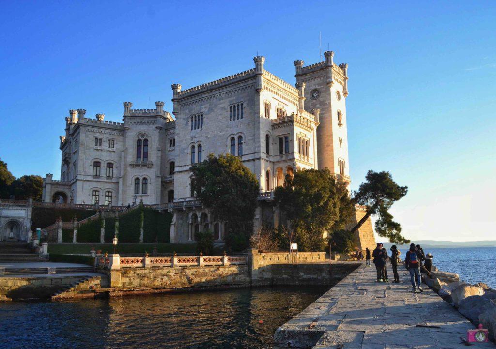 Cosa vedere a Trieste Castello di Miramare