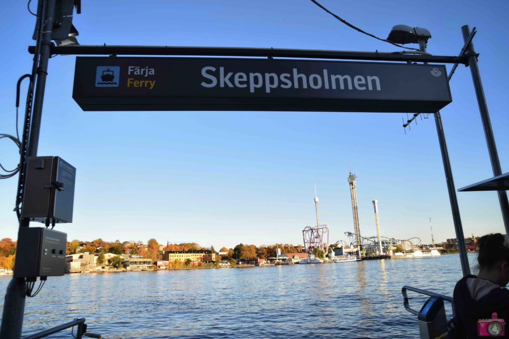 Visitare Stoccolma traghetto Skeppsholmen