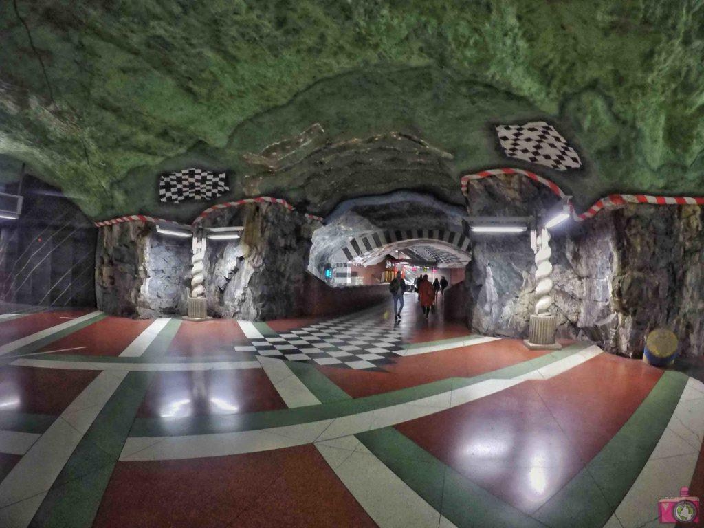 Visitare Stoccolma Tunnelbana Kungsträdgården