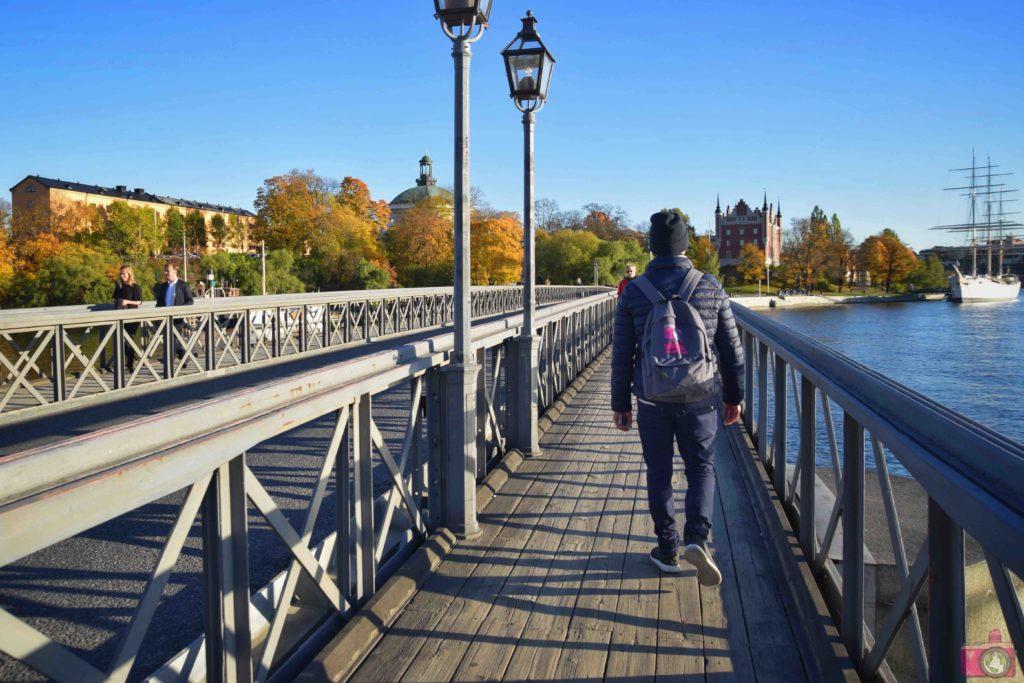 Visitare Stoccolma ponte Skeppsholmsbron