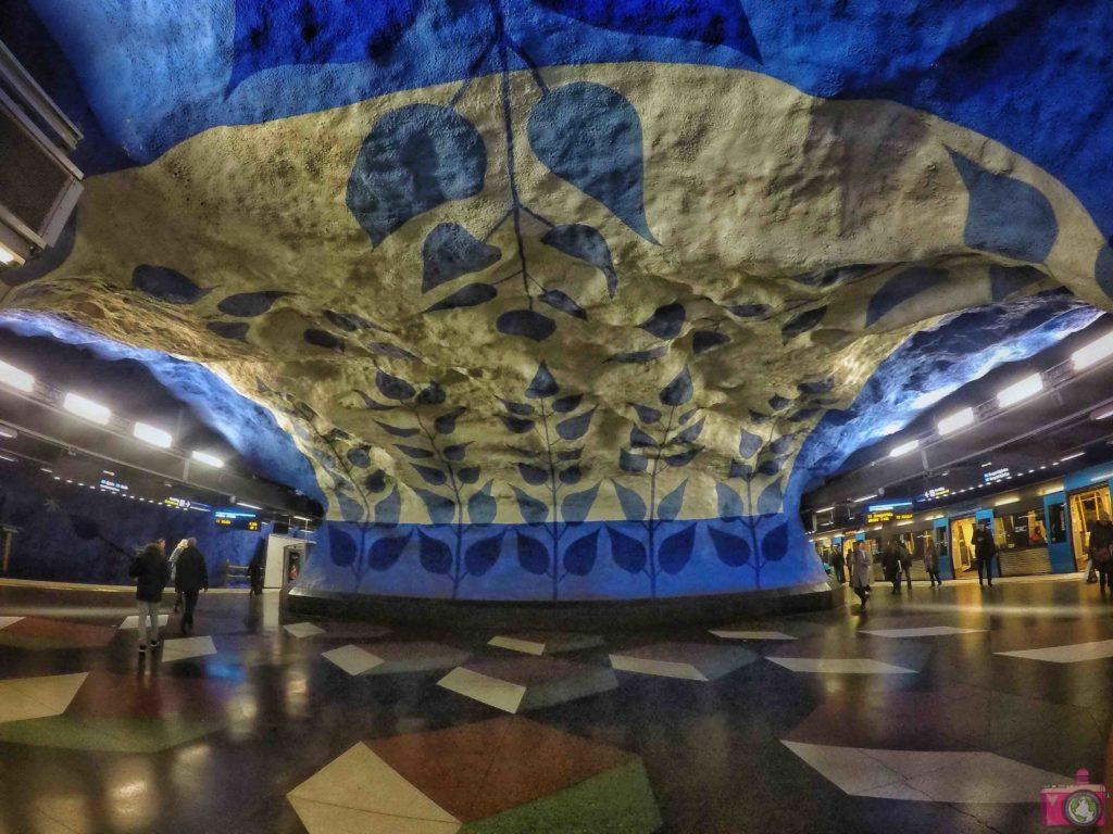 Visitare Stoccolma Tunnelbana T-Centralen