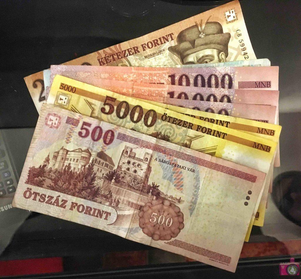 Cambiare moneta a Budapest fiorino ungherese