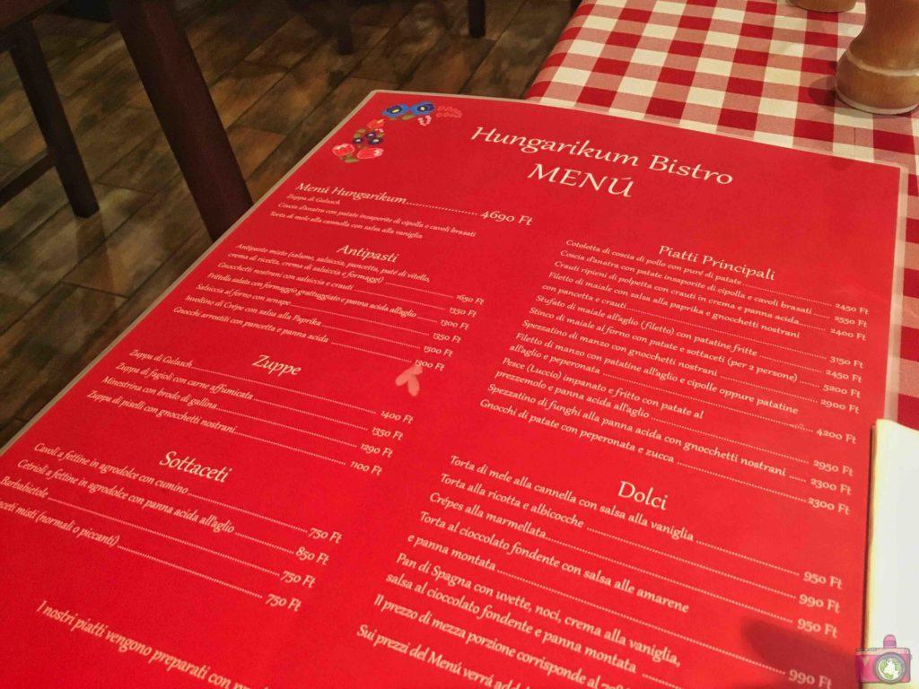 Dove mangiare a Budapest Hungarikum Bisztró