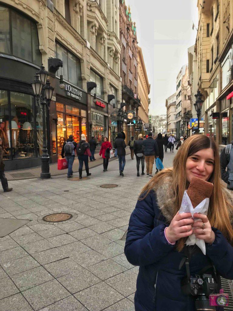 Cosa mangiare a Budapest kürtőskalács