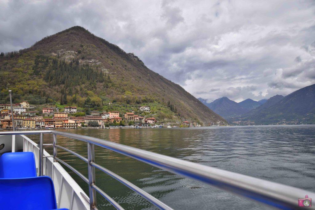Itinerario Lago d'Iseo traghetto Monte Isola