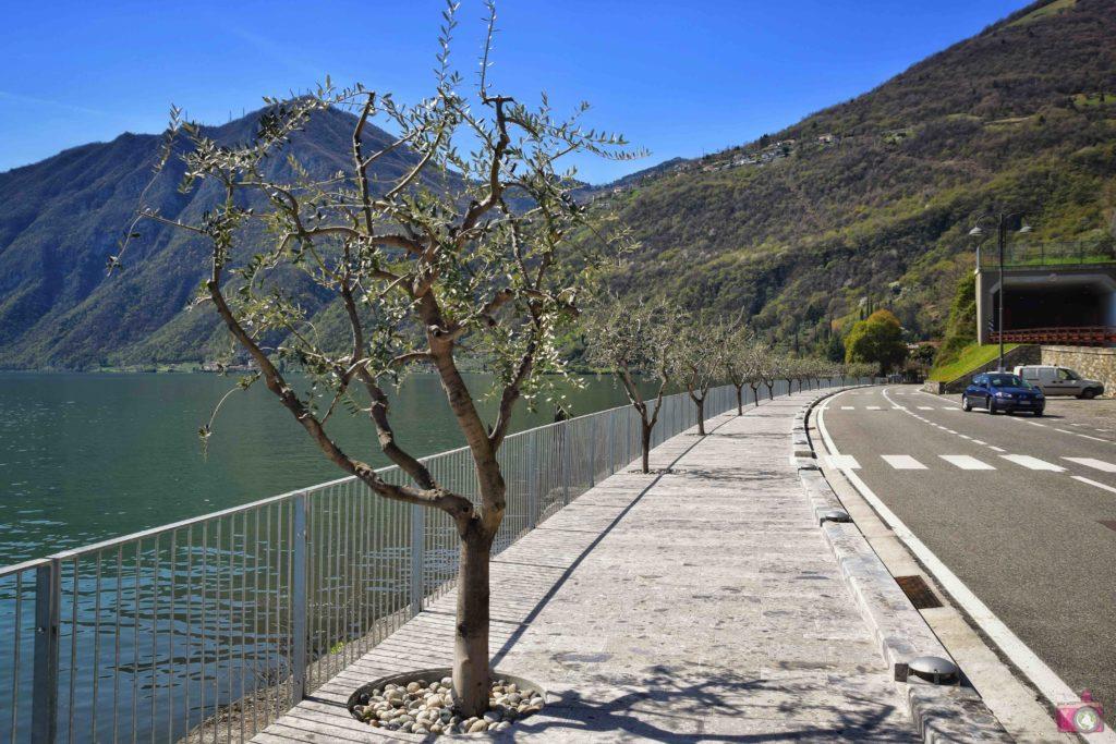 Itinerario Lago d'Iseo Riva di Solto