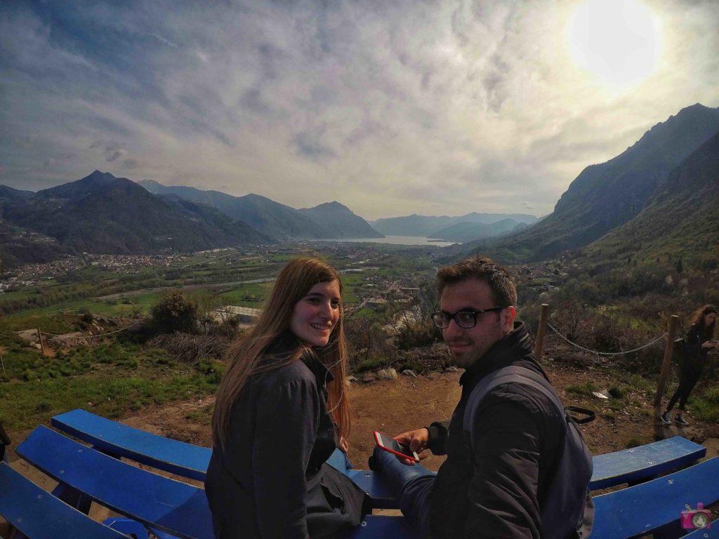 Itinerario Lago d'Iseo Panchina Gigante Rogno