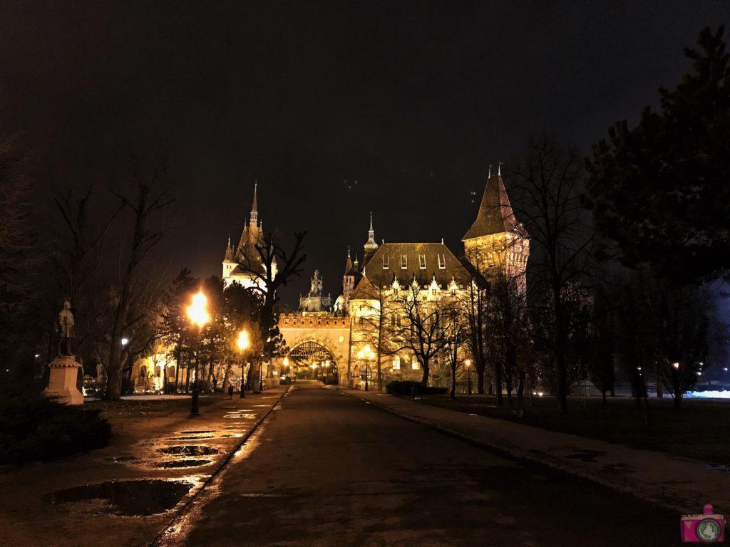 Castello di Vajdahunyad a Budapest