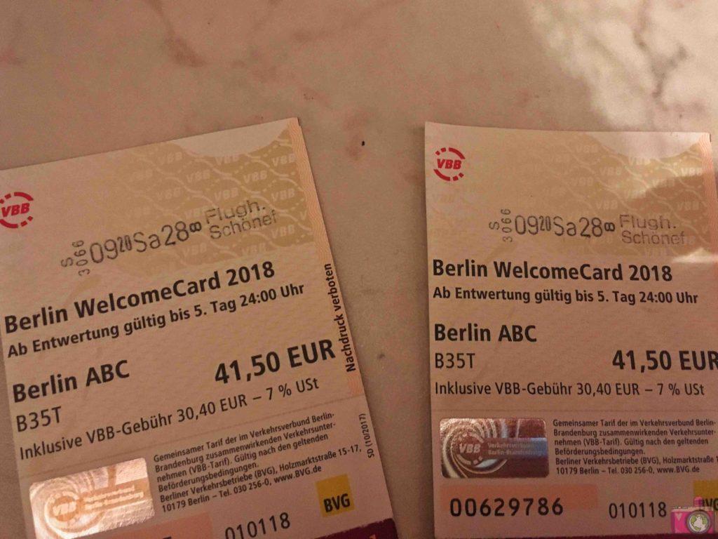 Berlin Welcome Card Berlino