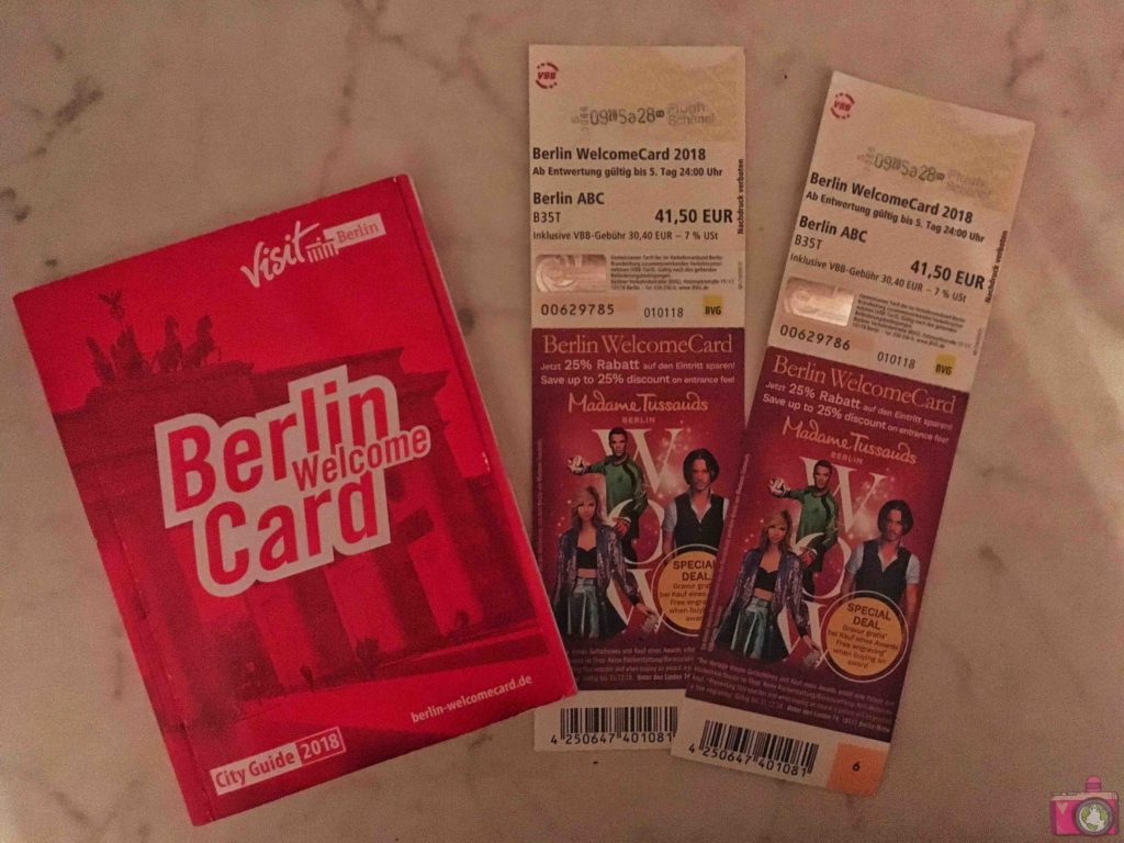 Berlin Welcome Card Berlino