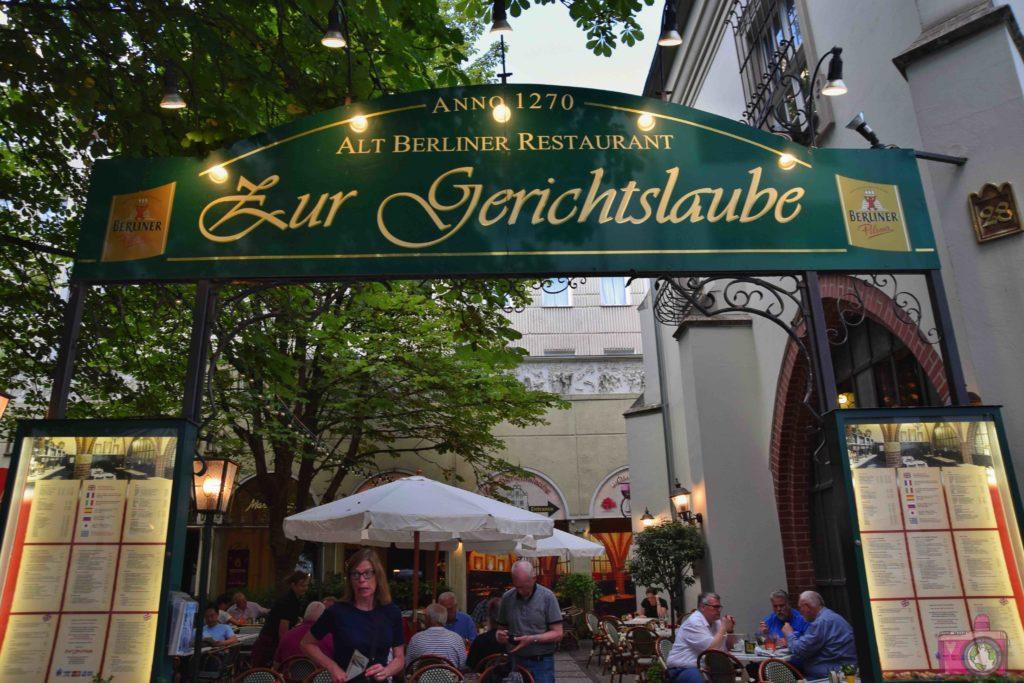 Dove mangiare a Berlino Zur Gerichtslaube
