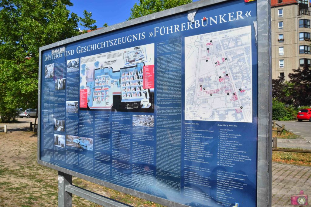 Visitare Berlino Führerbunker