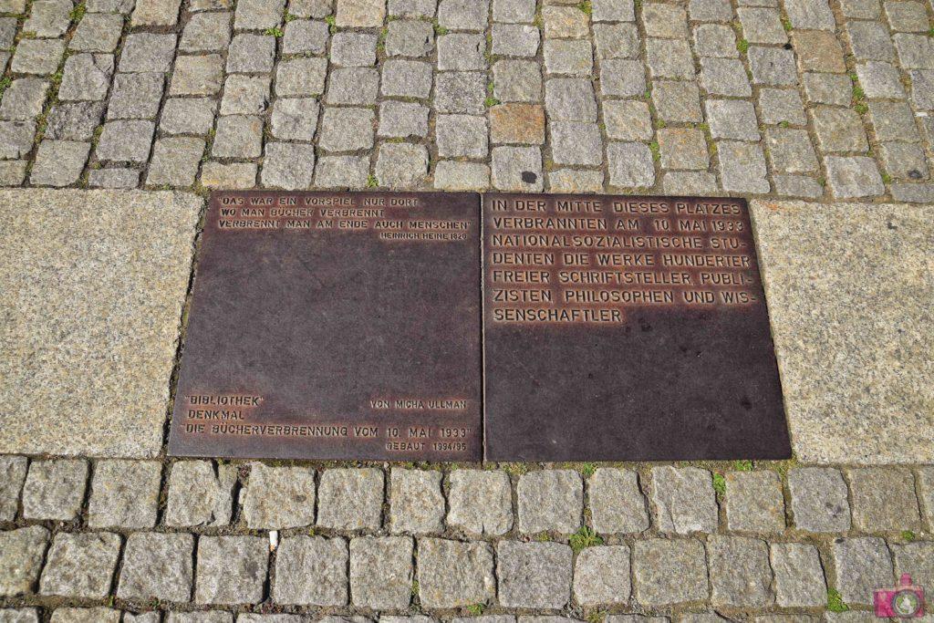 Visitare Berlino Bebelplatz