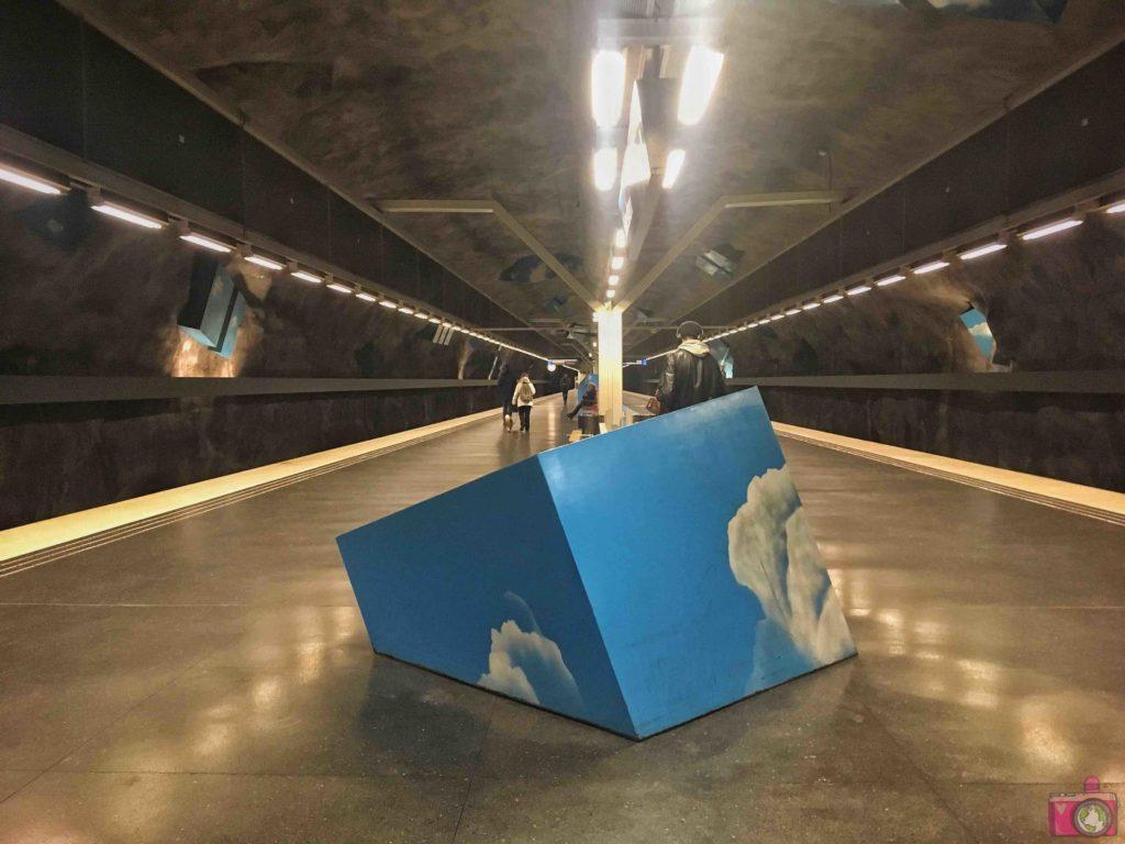Cosa vedere a Stoccolma Tunnelbana Solna strand