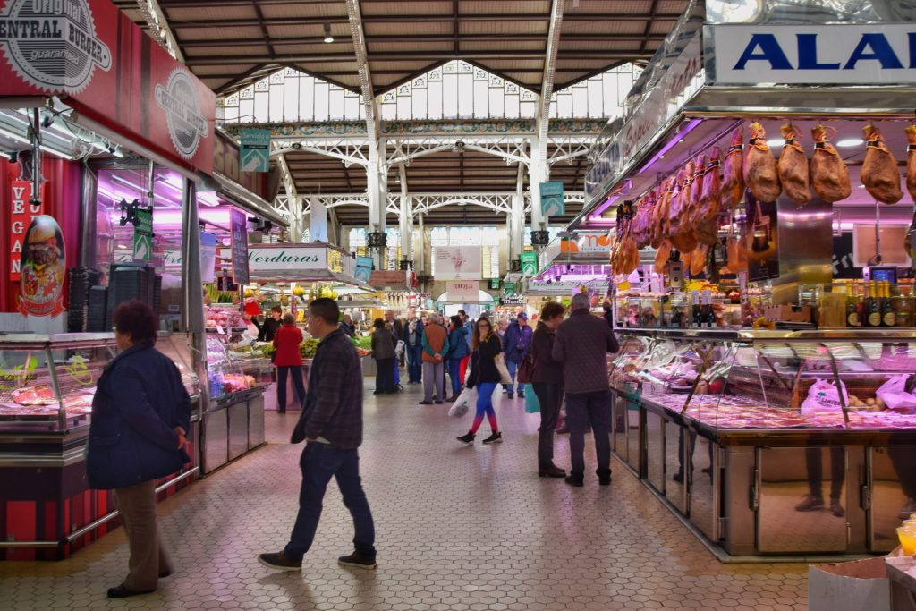Dove mangiare a Valencia Mercado Central