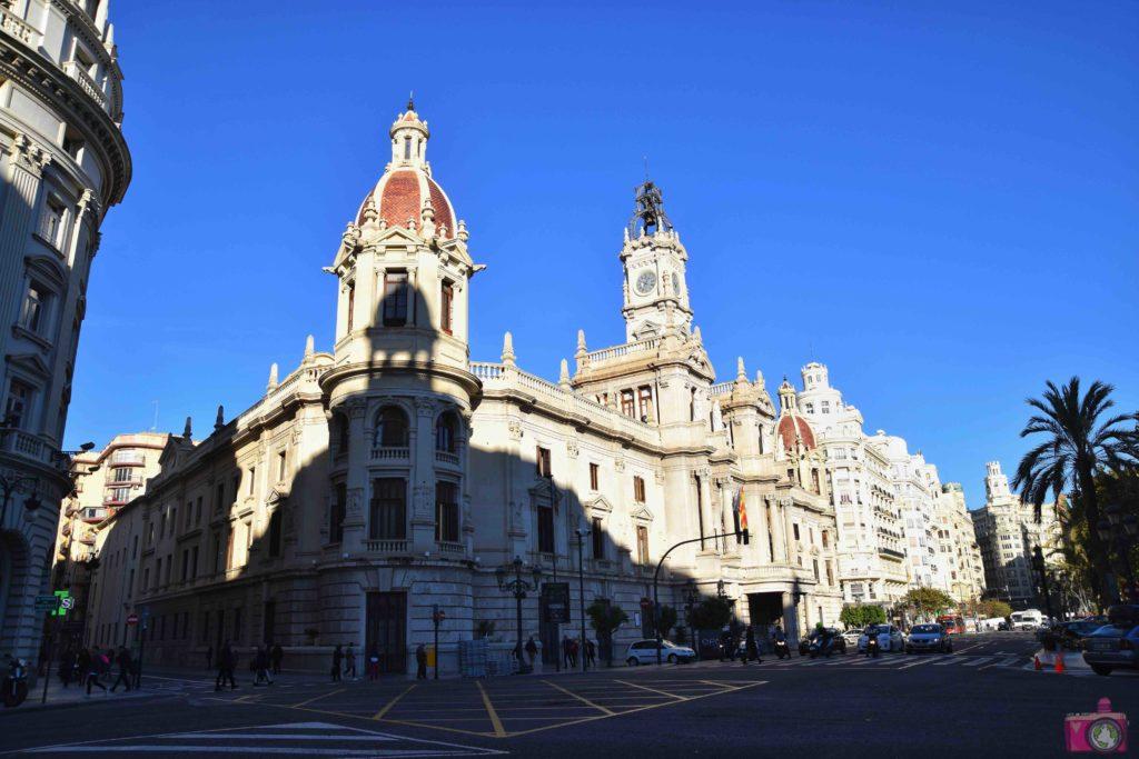 Cosa vedere a Valencia Plaza del Ayuntamiento