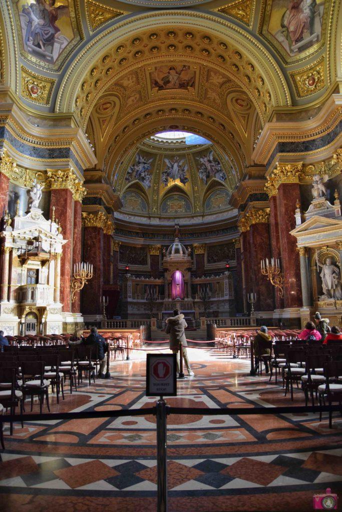 Visitare Budapest Basilica di Santo Stefano