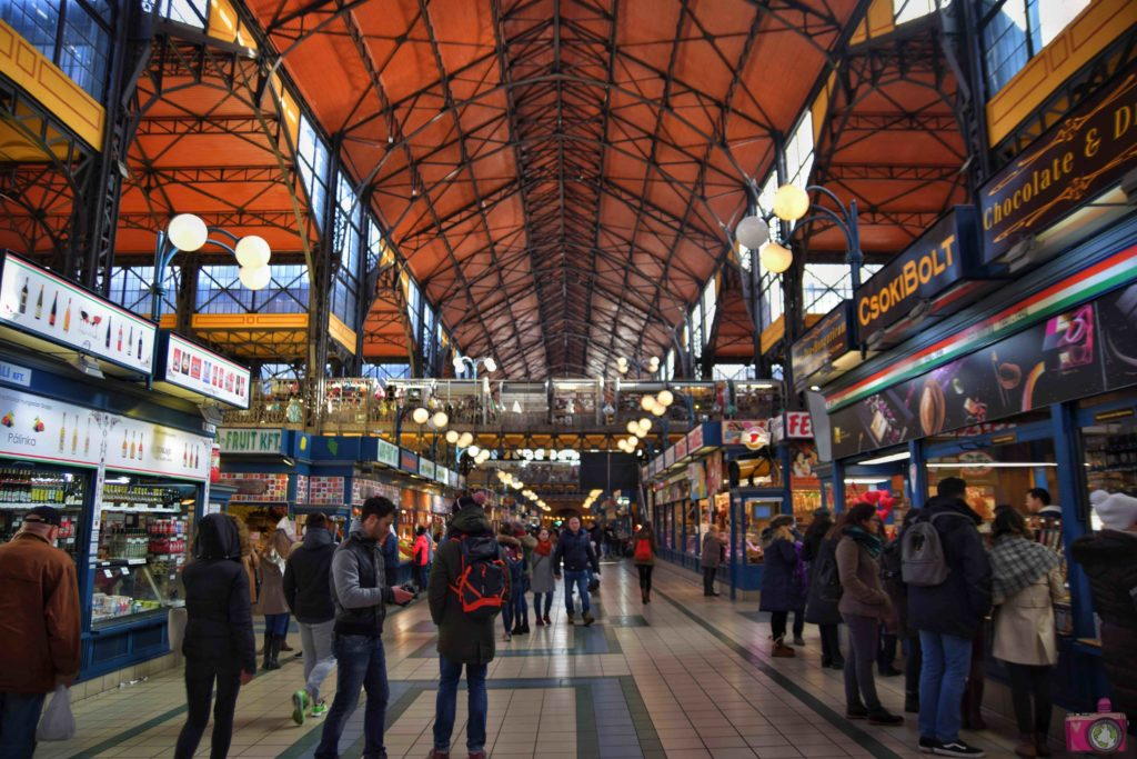 Visitare Budapest Mercato Coperto Centrale