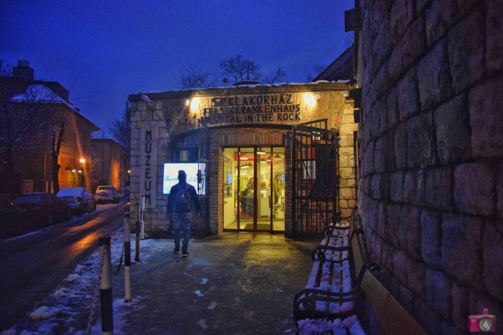 Cosa vedere a Budapest Museo Ospedale nella Roccia