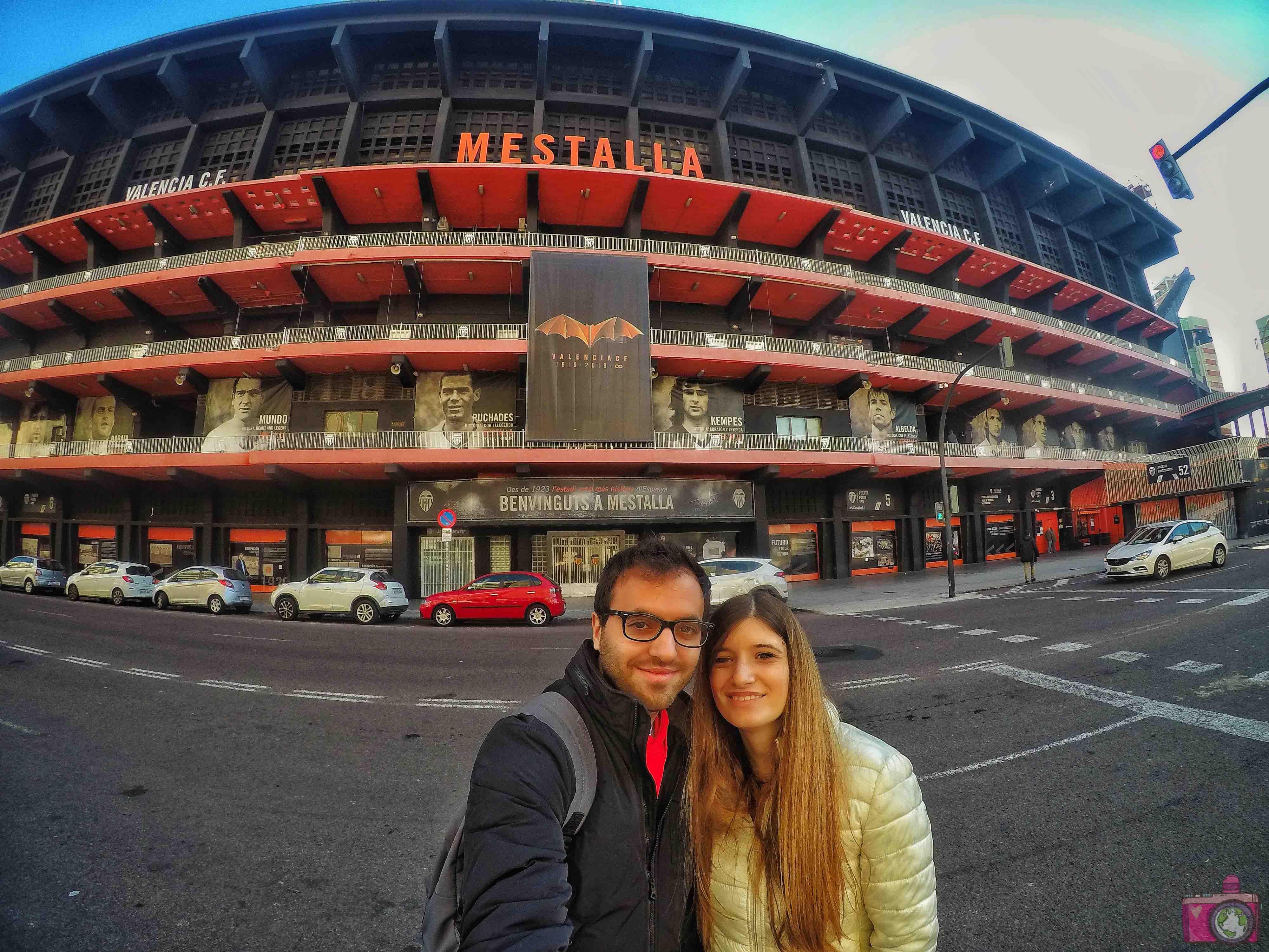 Visitare Valencia Stadio di Mestalla