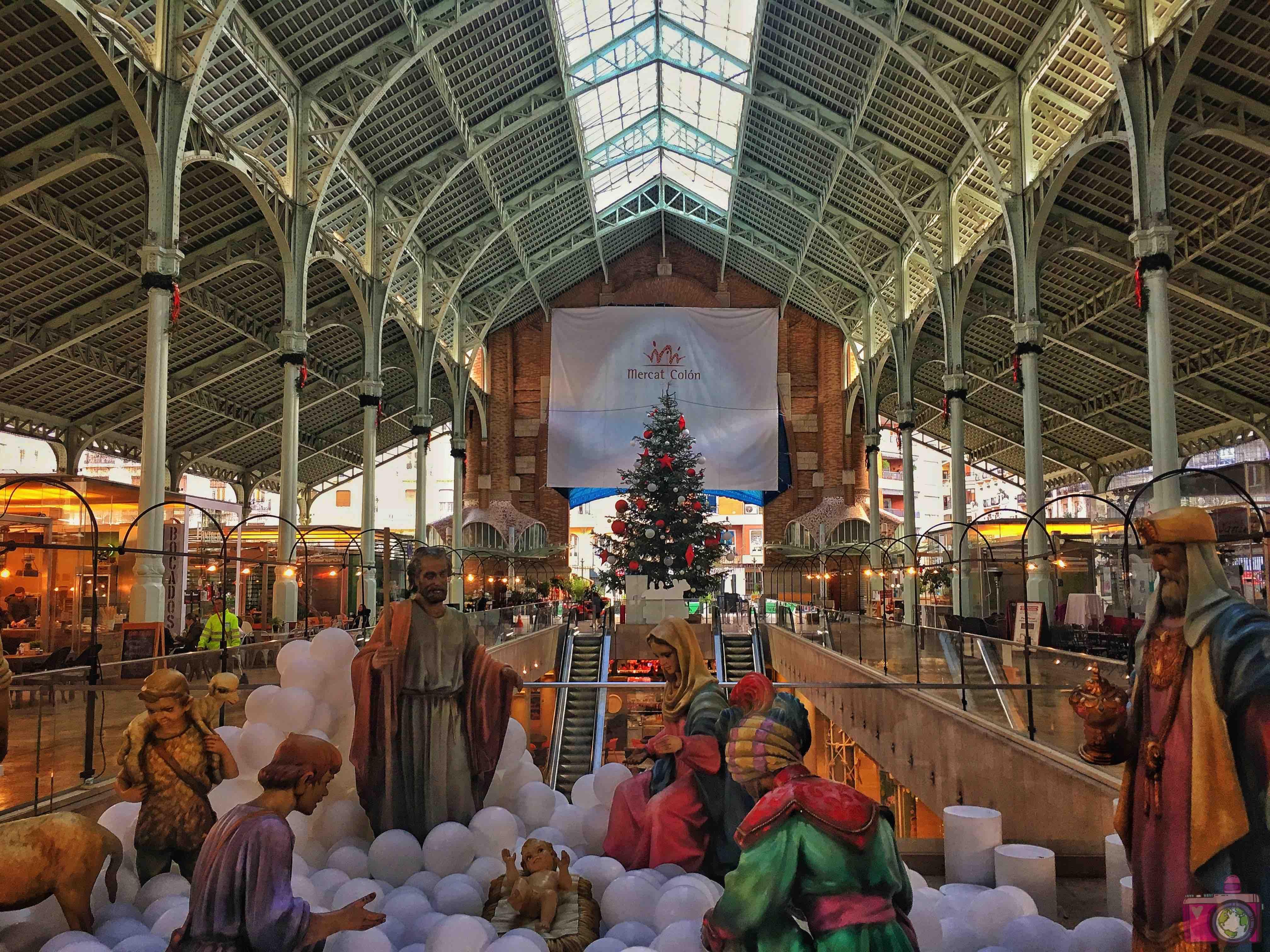 Visitare Valencia Mercado deColón