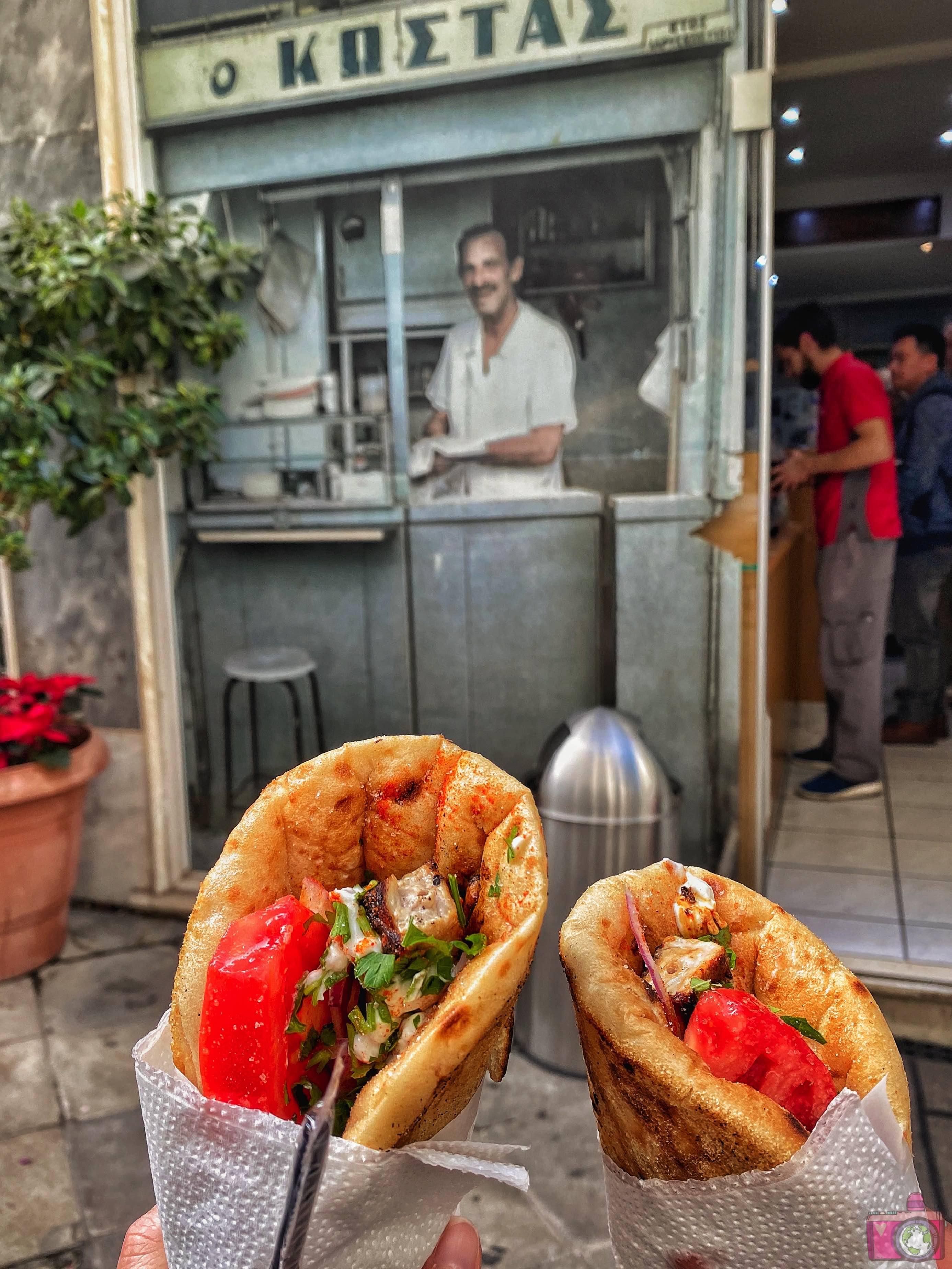 Dove mangiare ad Atene O Kostas