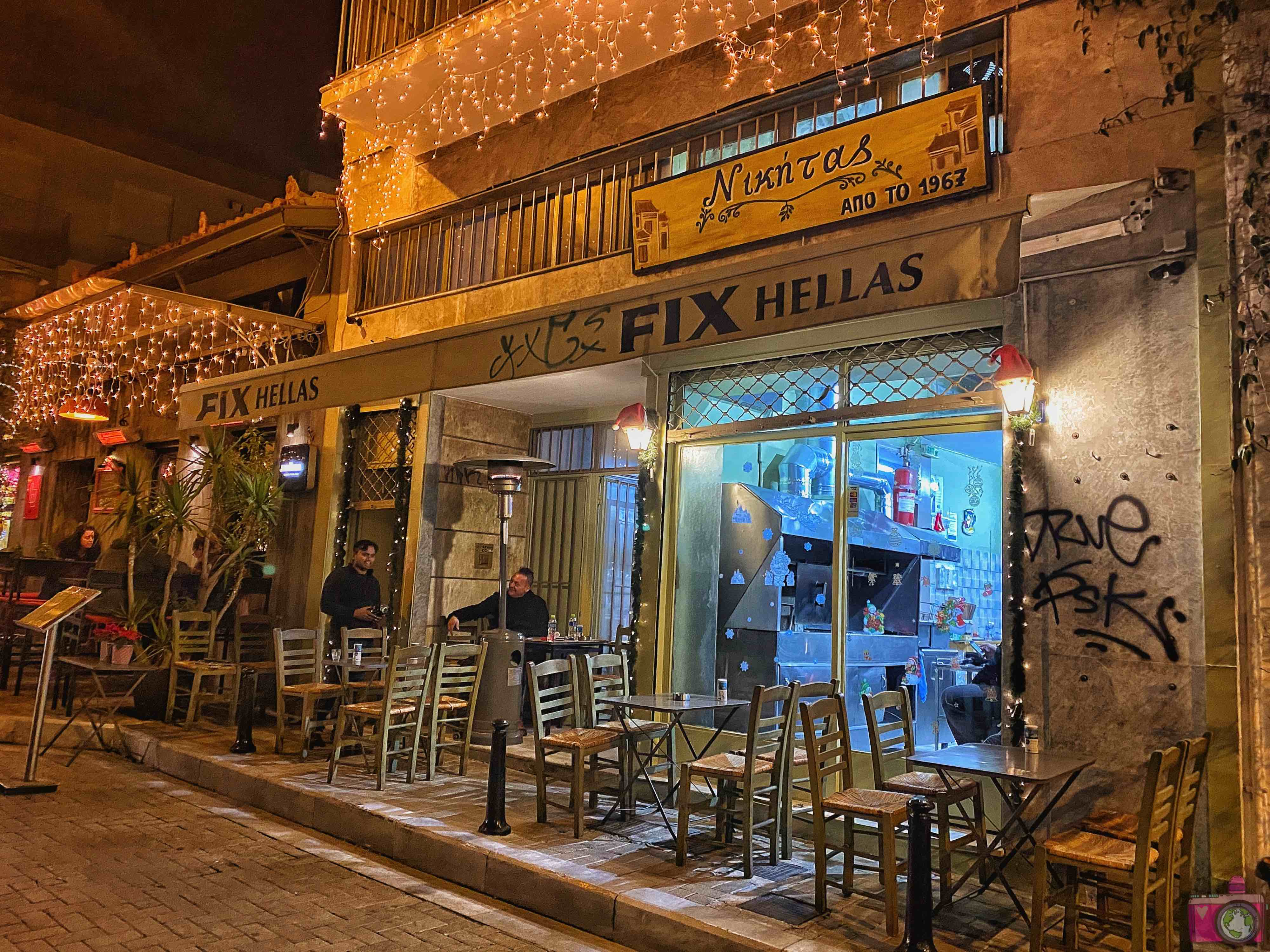 Dove mangiare ad Atene Nikitas