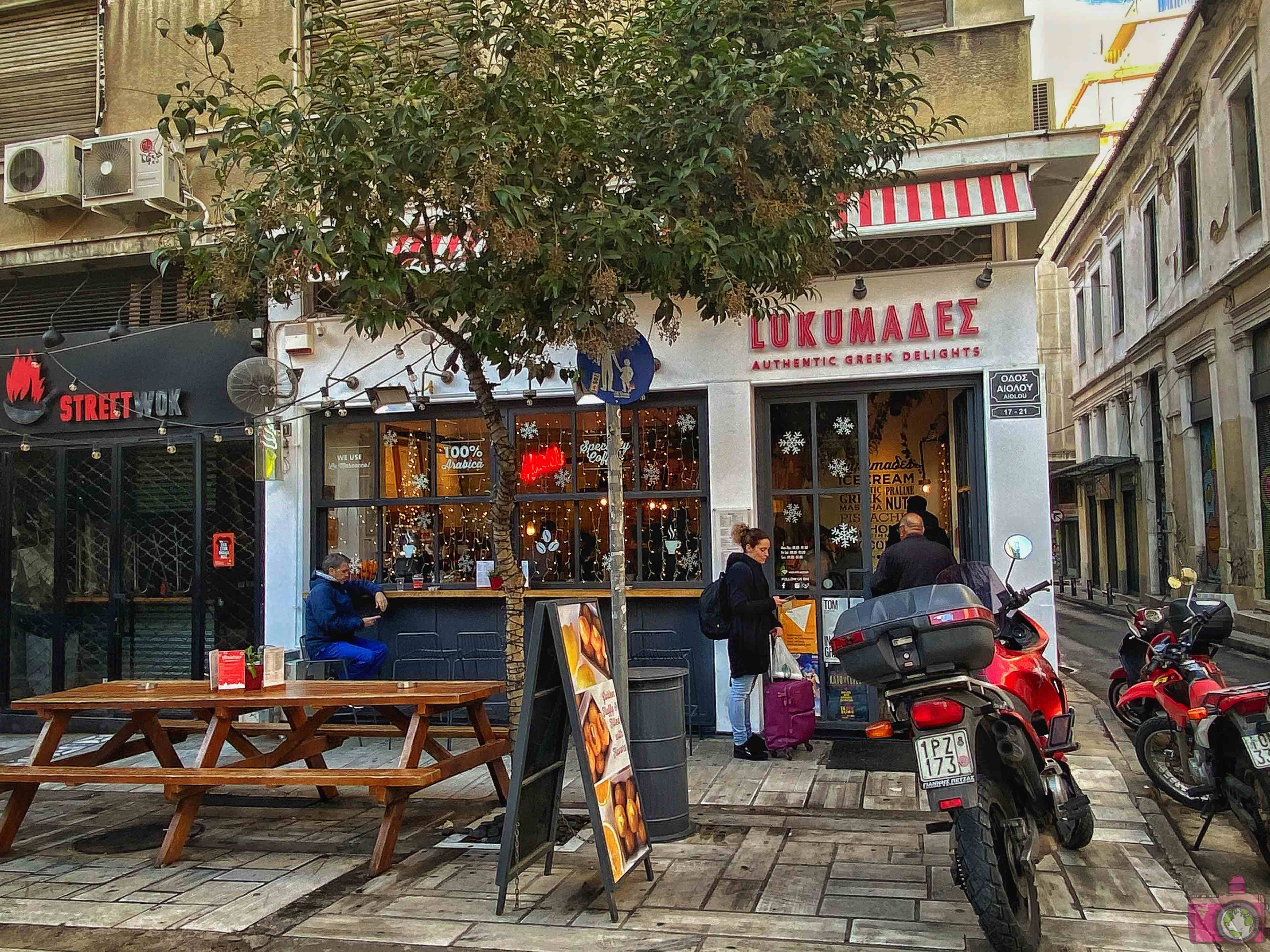 Dove mangiare ad Atene Lukumades