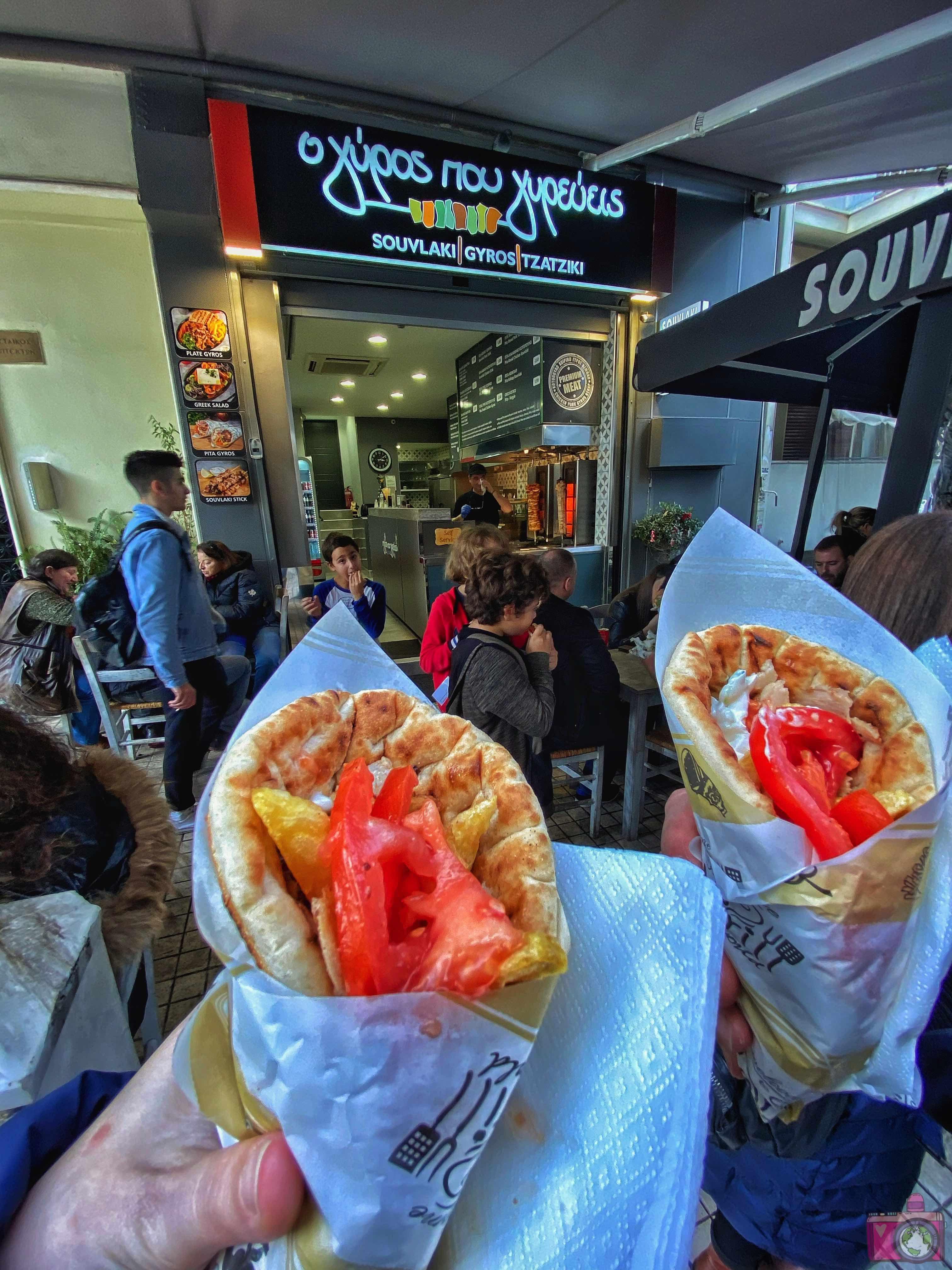 Dove mangiare ad Atene O Gyros pou Girevis