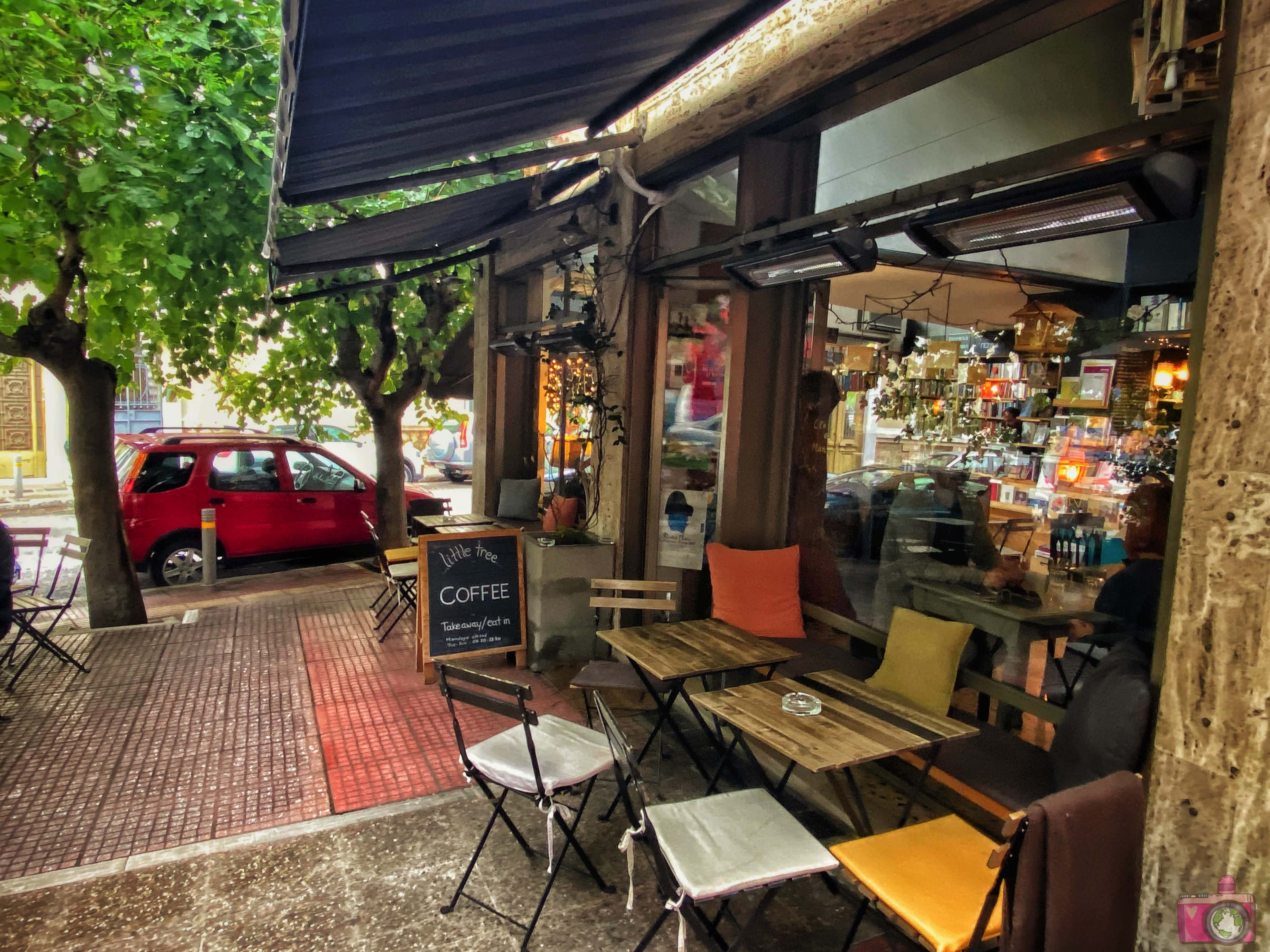 Dove mangiare ad Atene Little Tree Books & Coffee