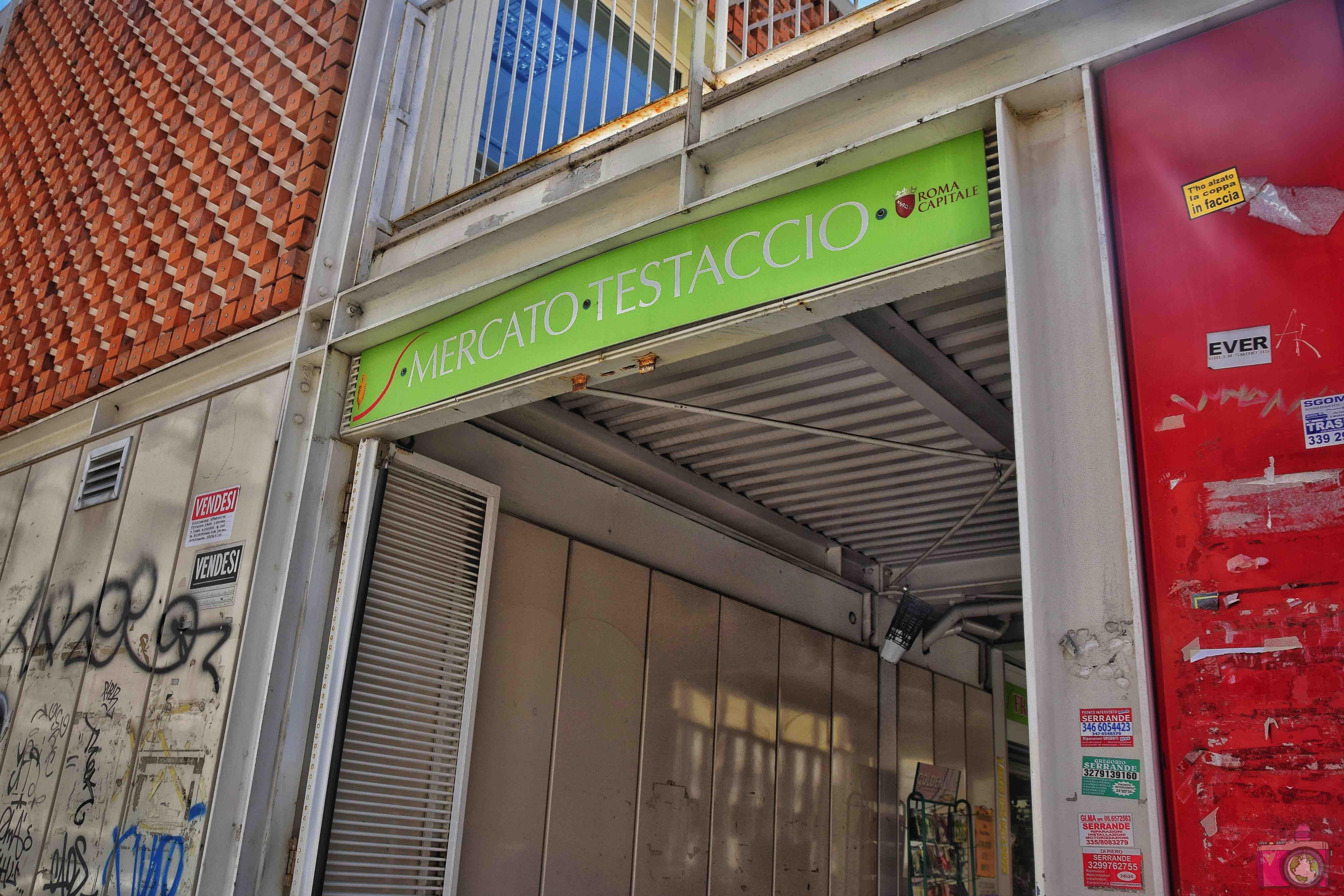 Dove mangiare a Roma Mercato di Testaccio