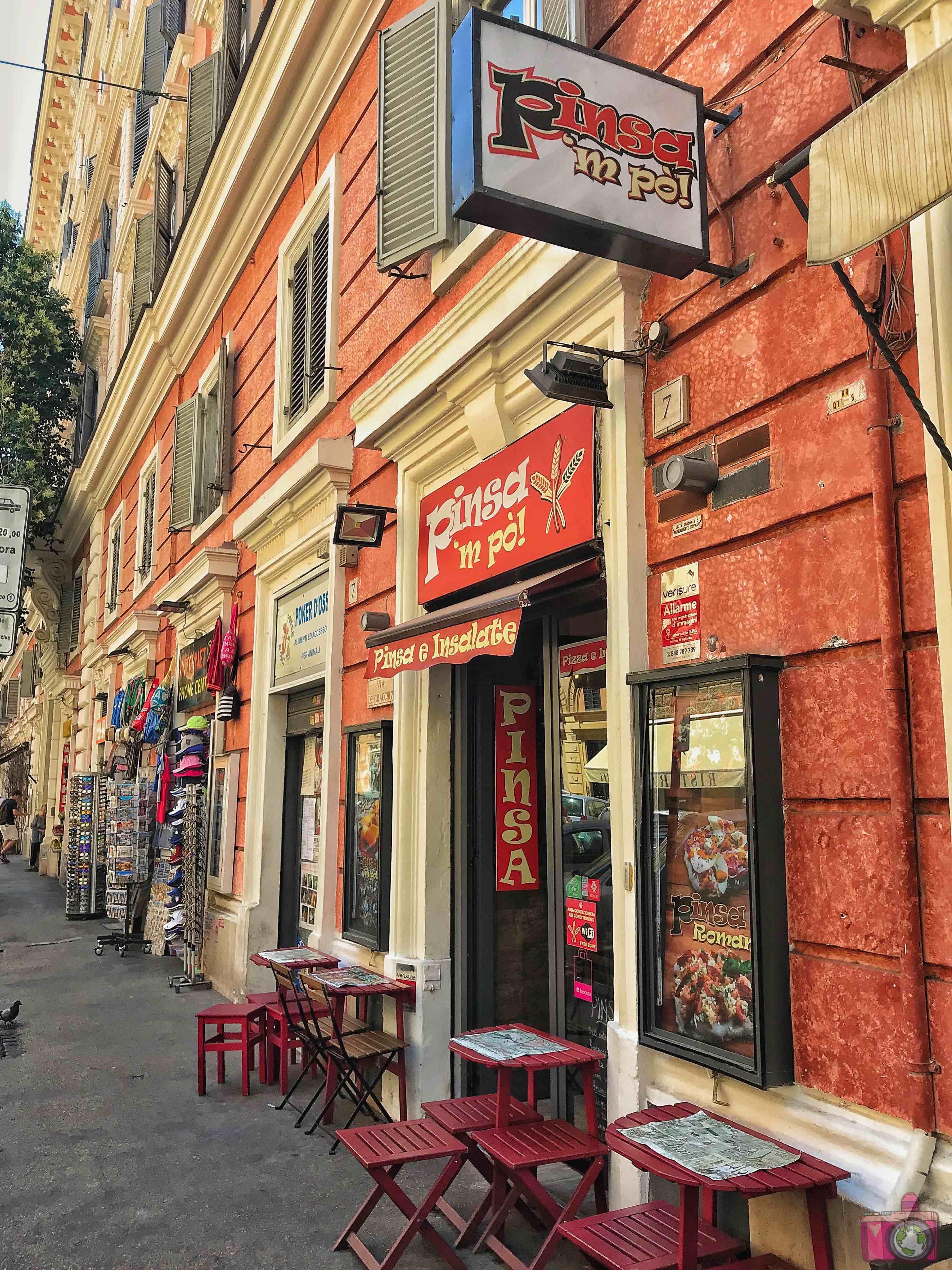 Dove mangiare a Roma Pinsa 'Mpò