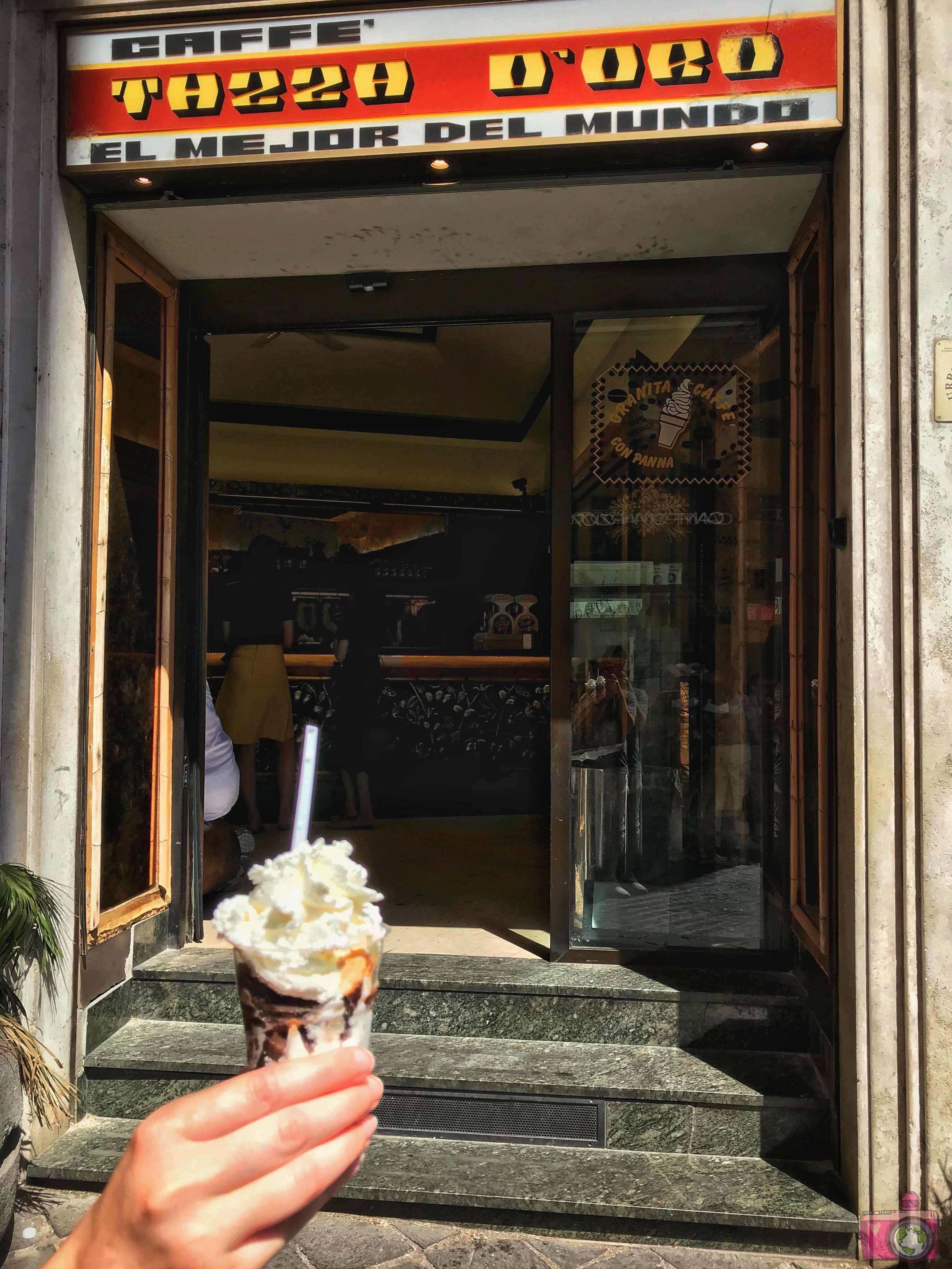 Casa del Caffè Tazza d'Oro Granita al caffè