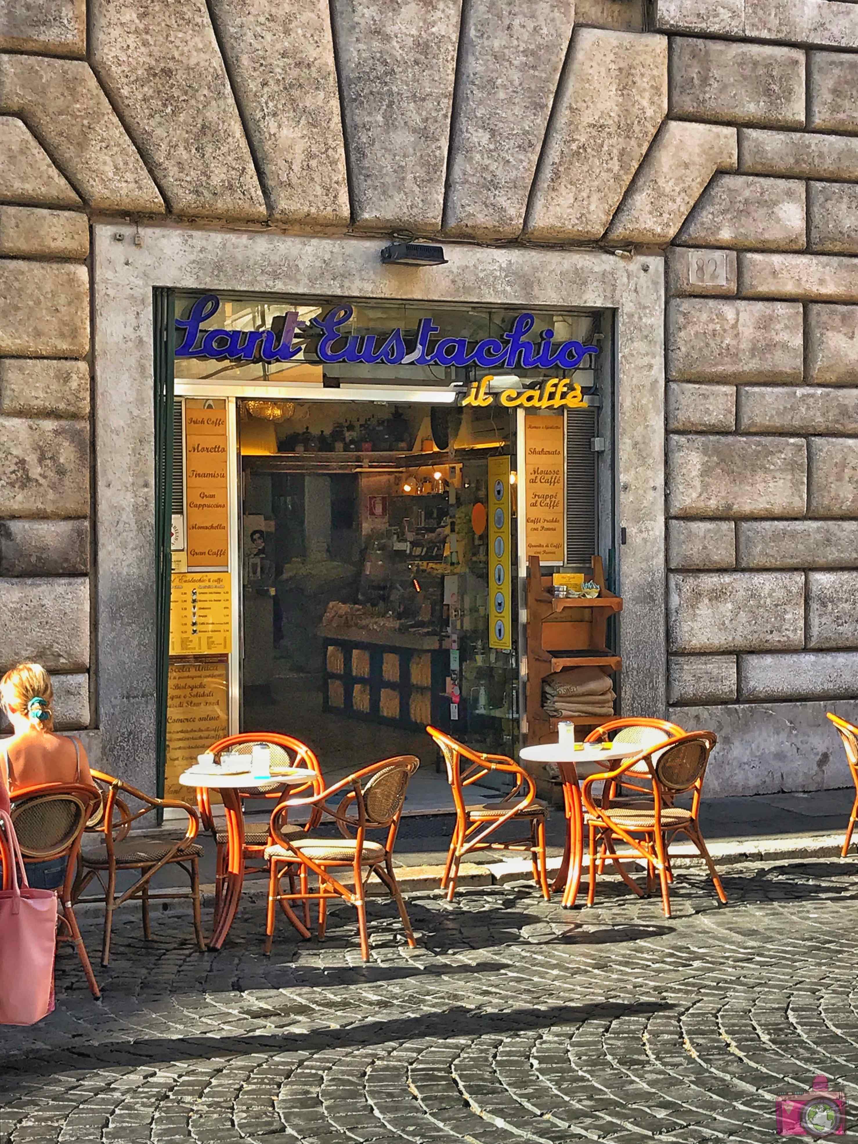 Dove mangiare a Roma Sant'Eustachio Il Caffè