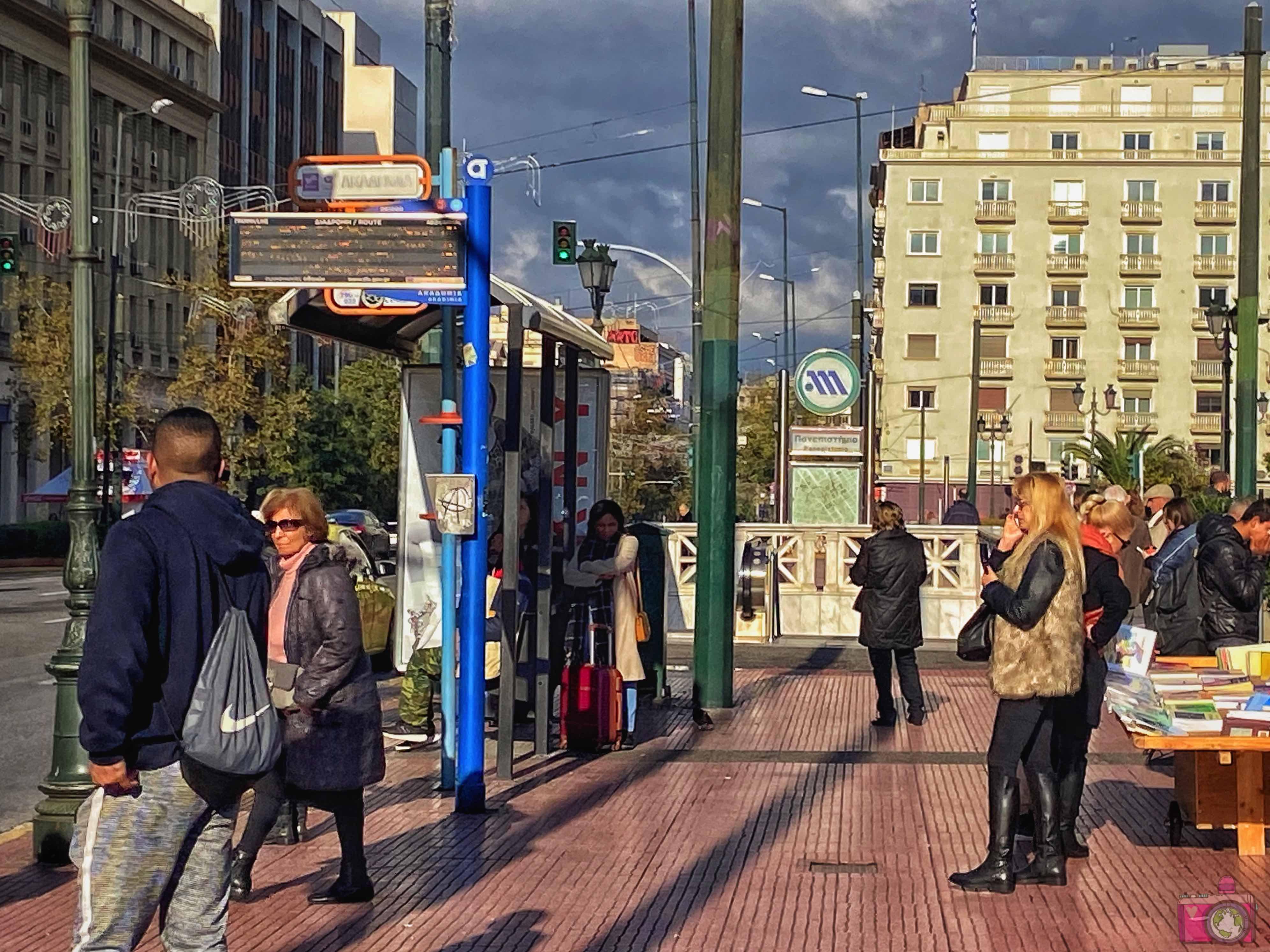 Come muoversi ad Atene