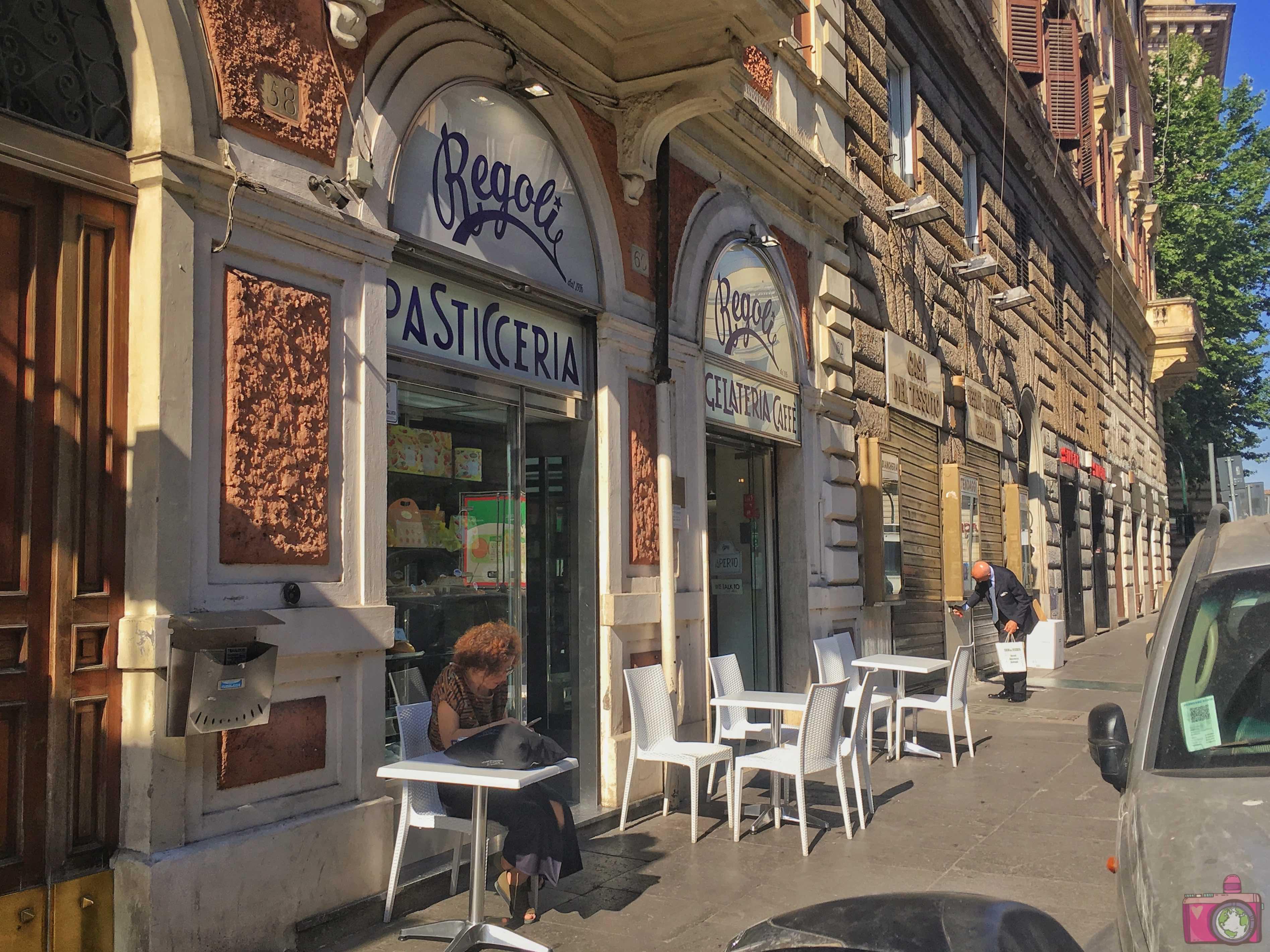 Dove mangiare a Roma Pasticceria Regoli