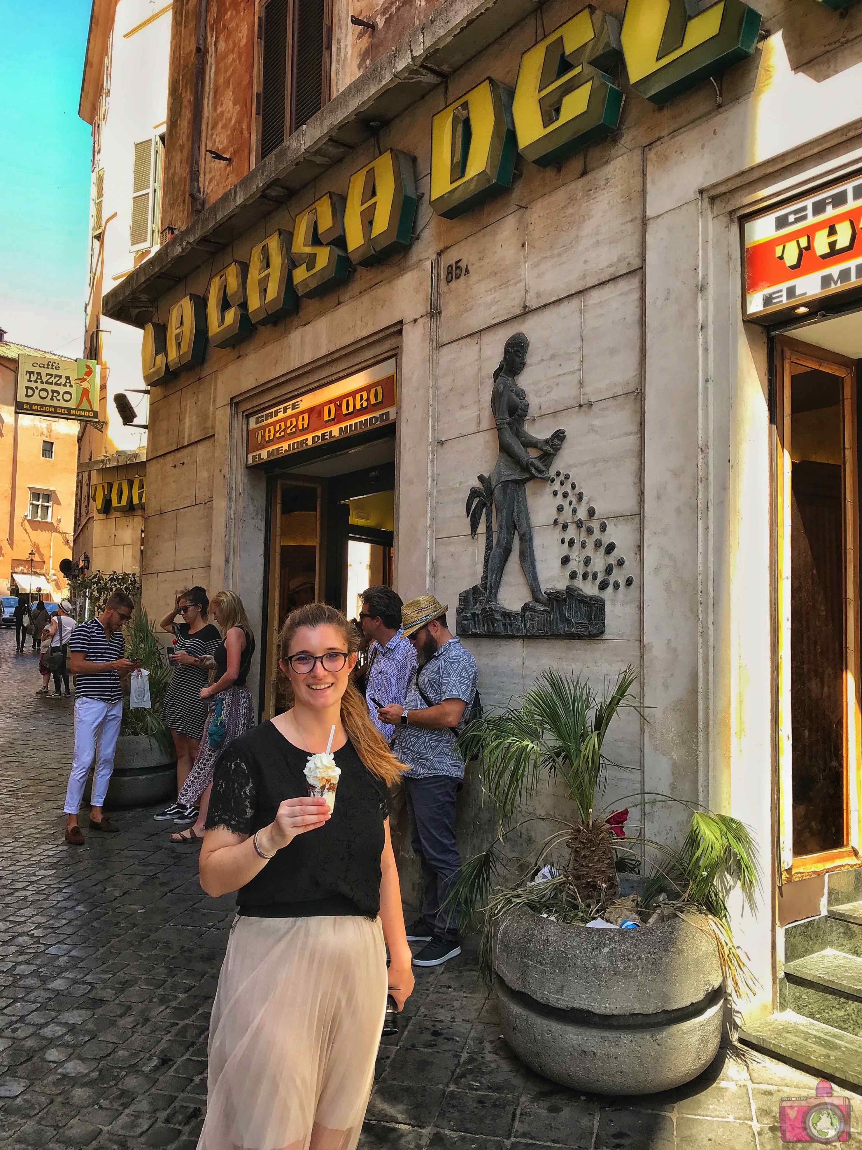 Dove mangiare a Roma Casa del Caffè Tazza d'Oro